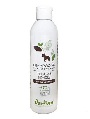 Shampooing Pelages Foncés - Chiens 250 ml - Verlina