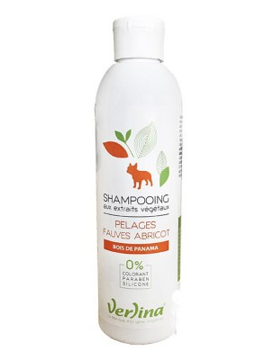 Shampooing Pelages Fauves - Chiens 250 ml - Verlina