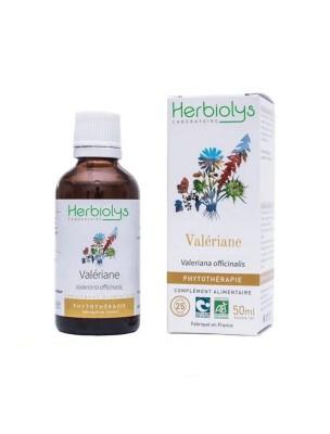 Valériane Bio - Sommeil Teinture-mère Valeriana officinalis 50 ml - Herbiolys
