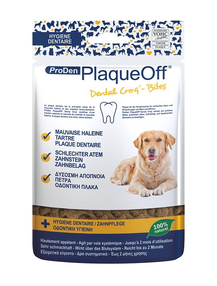 Dental Croq' - Plaque dentaire, Tartre et Haleine des chiens 150 g - ProDen