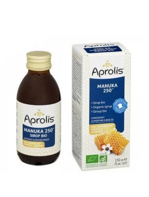 Sirop Bio - Propolis, Guarana et Manuka 250 150 ml - Aprolis
