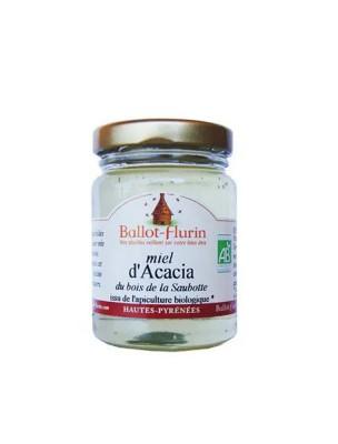 Miel d'Acacia Bio 125g - Doux et raffiné - Ballot-Flurin