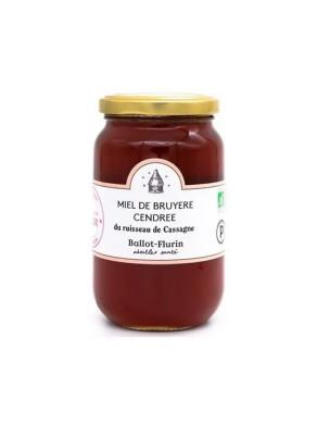 Miel de Bruyère Cendrée Bio 125 g - Force et délicatesse - Ballot-Flurin