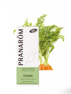 Carotte Bio - Huile essentielle Daucus carota var. sativus 5 ml - Pranarôm