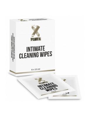 Intimates Wipes XPower - 6 Lingettes Désinfectantes - LaboPhyto