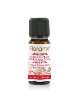 Stop Odeur Bio - Composition pour diffusion aux huiles essentielles 10 ml - Florame
