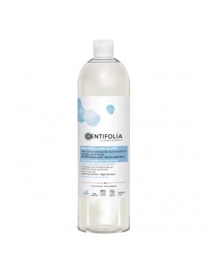 Eau Micellaire Neutre 3 en 1 Bio - Visage, Yeux et Lèvres 500 ml - Centifolia