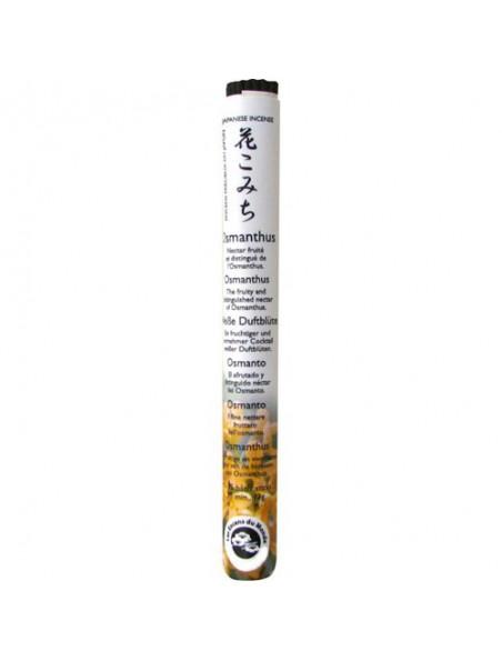 Osmanthus encens japonais - 35 bâtonnets - Les Encens du Monde