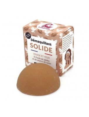 Démaquillant Solide Bio - Visage et Yeux 30ml - Lamazuna