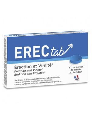 ErecTab - Érection et Virilité 20 comprimés - LaboPhyto