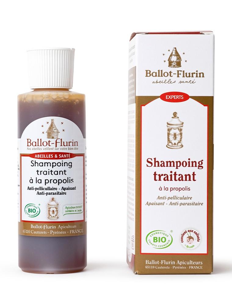 Shampoing Anti-pelliculaire - A la Propolis 125 ml - Ballot-Flurin