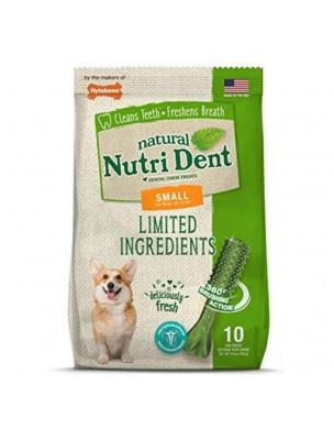Nutri Dent Small - Snacks dentaires pour chiens 10 pièces - Nylabone