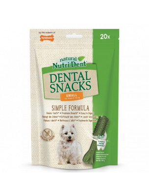 Nutri Dent Small - Snacks dentaires pour chiens 20 pièces - Nylabone