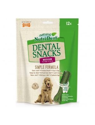 Nutri Dent Medium - Snacks dentaires pour chiens 12 pièces - Nylabone