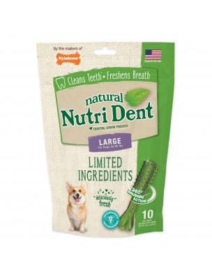 Nutri Dent Large - Snacks dentaires pour chiens 10 pièces - Nylabone