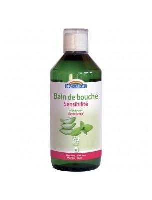 Bain de bouche Sensibilité Bio - Hygiène bucco-dentaire 500 ml - Biofloral