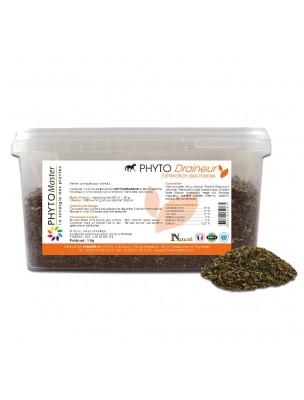 Phyto Draineur - Elimination des Toxines des chevaux 1kg - Phyto Master