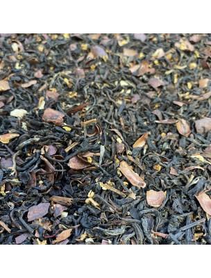 Thé Cacao-Noisette-Safran Bio - Thés noir ardennais 30 grammes - Le Safran