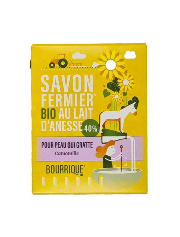 Savon Camomille au lait d'ânesse Bio - Peaux atopiques 100g - Paysane