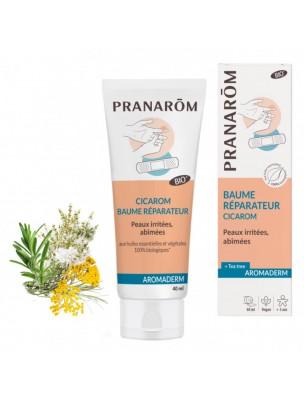 Cicarom Bio - Aromaderm Baume Réparateur 40 ml - Pranarôm