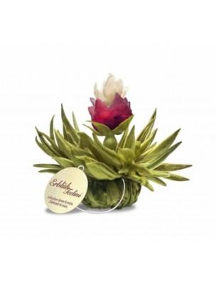 Peach Pearl Fleur de Thé - Thé blanc, Rose, Jasmin et Pêche
