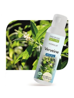 Verveine Bio - Hydrolat de Lippia citriodora  100 ml - Propos Nature