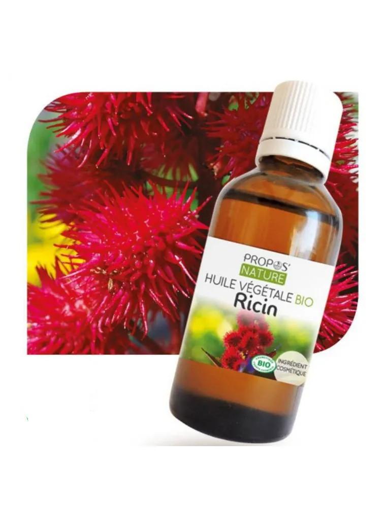 Ricin Bio - Huile végétale de Ricinus communis 50 ml - Propos Nature