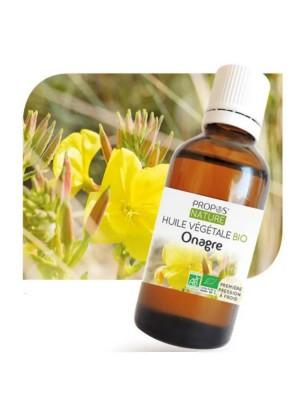 Onagre Bio - Huile végétale d'Oenothera biennis 50 ml - Propos Nature