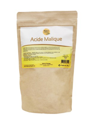 Image de Acide malique - Foie et vésicule 500g - Nature et Partage depuis ▷ Romarin bourgeon Bio - Tonique du foie et de la circulation 15 ml