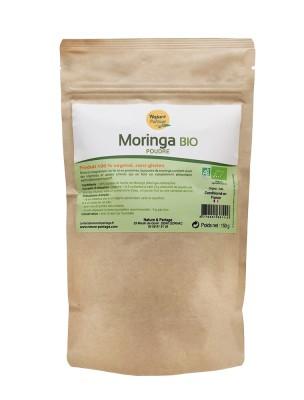 Moringa Bio - Feuilles en poudre 150g - Tisane de Moringa oleifera