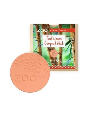 Recharge Fard à joues Bio - Eclat Naturel 326 9 grammes - Zao Make-up