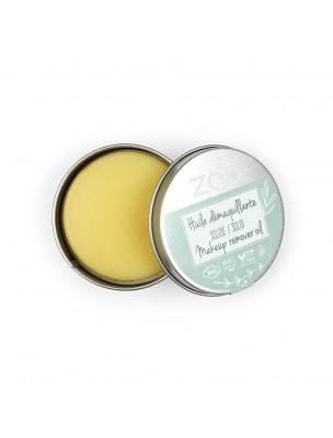 Huile démaquillante solide Bio - Soin du visage 50 grammes - Zao Make-up