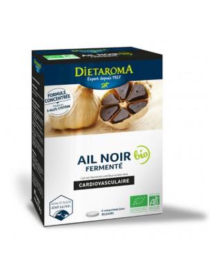 Ail Noir Fermenté Bio - Système Circulatoire 60 comprimés - Dietaroma