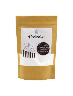 Recharge Poudre de Shampoing à la Coquille d'Huître Blanche Bio - Soin des Cheveux 160 g - Perlucine