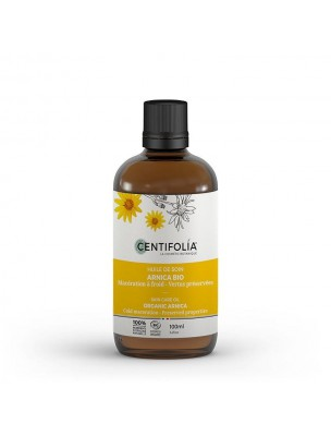 Arnica Bio - Coups et Chocs Huile de Soin 100 ml - Centifolia