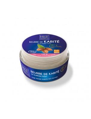 Beurre de Karité (Amande) Bio - Huile végétale de Butyrospermum parkii 100g - Herbes et Traditions