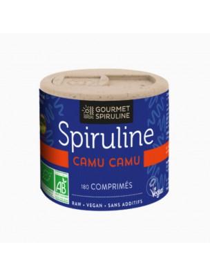 Spiruline Camu-Camu Bio - Vitalité 180 comprimés - Gourmet Spiruline