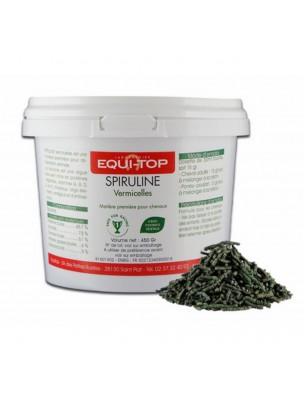 Spiruline vermicelles - Soutien la fonction musculaire des chevaux 1 Kg - Equi-Top