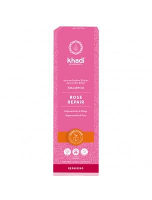Shampooing Ayurvédique Rose Repair - Réparateur 200 ml - Khadi