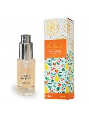 Le Chant des Fruits Bio - Eau de Parfum Spray de 30 ml - Bioveillance