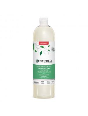 Eau Micellaire Purifiante Fraîcheur de Thé Bio - Soin du visage 500 ml - Centifolia