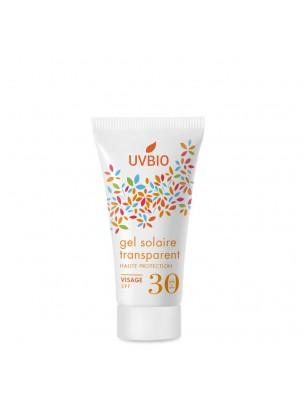 Gel Solaire SPF 30 Bio - Soin du visage 30 ml - UV Bio