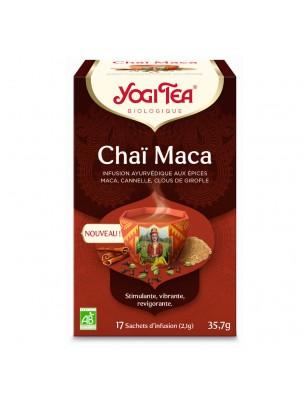 Chaï Maca Bio - Infusion Ayurvédique 17 sachets - Yogi Tea