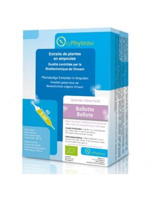 Ballote Bio - Détente et Sommeil 40 ampoules - Oxyphyteau
