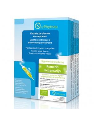Romarin Bio - Digestion 40 ampoules - Oxyphyteau