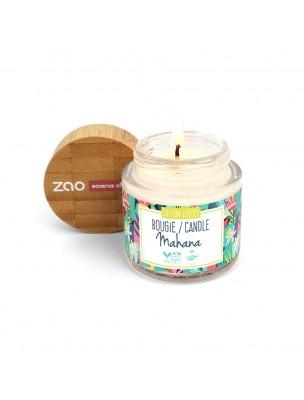 Bougie Mahana Bio - Cire végétale parfumée 30 g - Zao Make-up