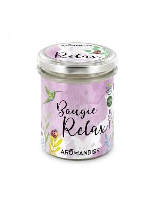 Bougie Relax - Senteurs Relaxantes 150 g - Aromandise
