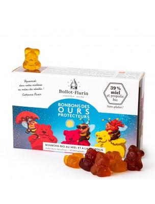 Bonbons des ours protecteurs Bio - Miel et Propolis 100g - Ballot-Flurin