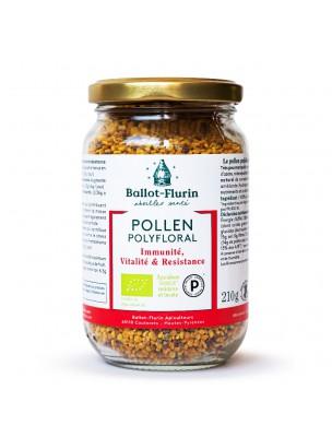 Pollen polyfloral dynamisé en pelotes Bio - Stimulant physique, intellectuel et émotionnel 210 g - Ballot-Flurin