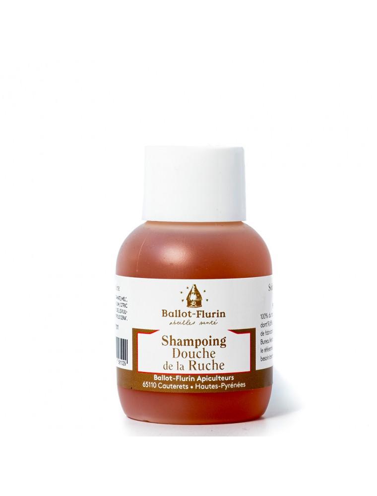 Shampoing Douche Mini de la Ruche - Soin lavant quotidien au miel 50 ml - Ballot-Flurin